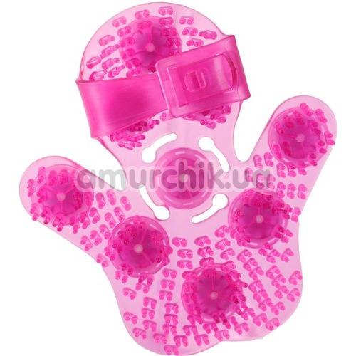 Универсальный массажер Simple & True Roller Balls Massager, розовый