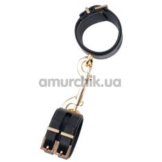 Наручники Guilty Pleasure Luxurious Handcuffs, черные - Фото №1