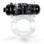 Виброкольцо Brazzers RС025, прозрачное - Фото №1