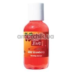 Массажное масло Nature Body Cozy Strawberry Warming Massage Oil - клубника, 50 мл - Фото №1