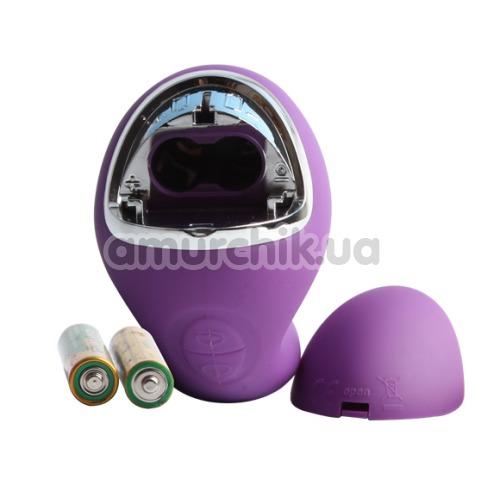 Вибратор клиторальный и точки G Melody Woo Seduction, фиолетовый
