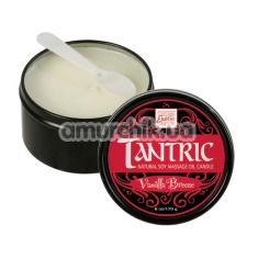 Свеча для массажа Tantric Vanilla Breeze - ваниль, 170 мл - Фото №1