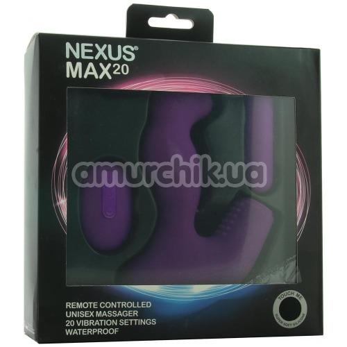 Вибратор Nexus Max 20, фиолетовый