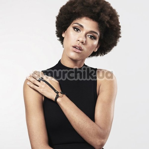 Браслеты Bijoux Indiscrets Maze Hand Bracelet Harness, чёрные
