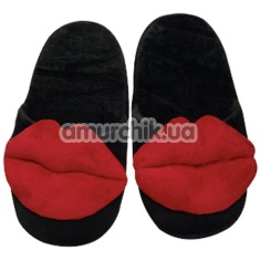 Тапочки с губками Hausschuhe Kiss