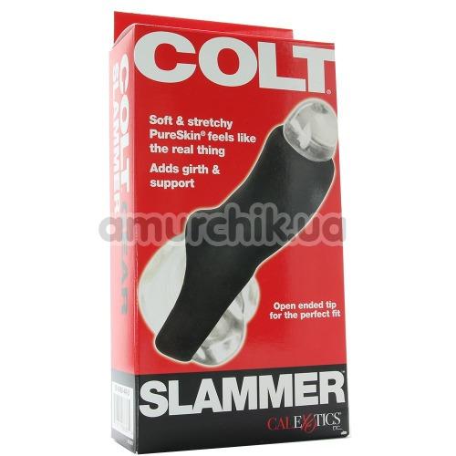 Насадка на пенис Colt Slammer, черная