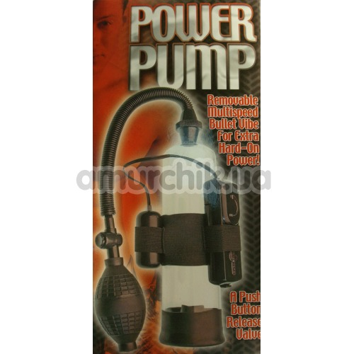 Вакуумная помпа Power Pump Mit Bullet Vibe