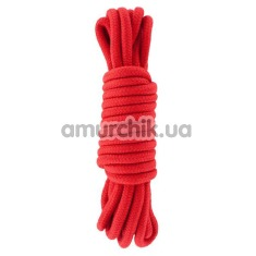 Веревка sLash Bondage Rope Red 5м, красная - Фото №1