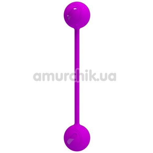 Вагинальные шарики Pretty Love Kegel Ball III, фиолетовые - Фото №1