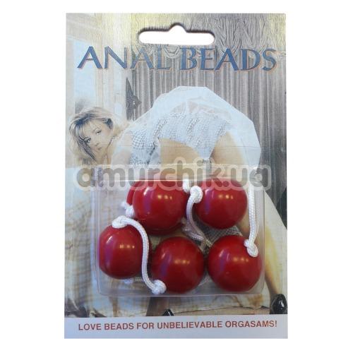 Анальные шарики Clear Anal Beads в ассортименте