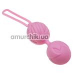 Вагинальные шарики Adrien Lastic Geisha Lastic Balls L, светло-розовые - Фото №1