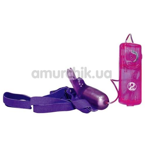 Клиторальный стимулятор Gentle Rabbit, фиолетовый