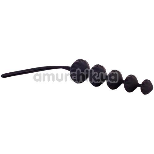 Набор из 2 анальных цепочек Satisfyer Beads, черный