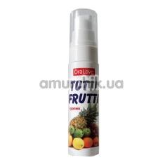Оральный лубрикант OraLove Tutti Frutti - тропические фрукты, 30 мл - Фото №1