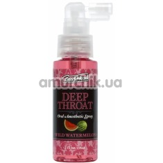 Расслабляющий спрей для минета GoodHead Deep Throat Spray Wild Watermelon - арбуз, 59 мл - Фото №1