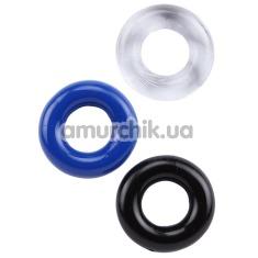 Набор эрекционных колец Get Lock Donut Rings, 3 шт - Фото №1