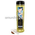 Массажное масло Shunga Erotic Massage Oil Adorable Coconut Thrills - кокос, 240 мл - Фото №1