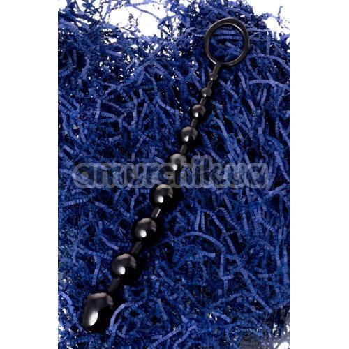Анальная цепочка A-Toys Anal Beads 761309 M-Size, чёрная