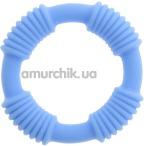 Эрекционное кольцо Cotton Pop, голубое