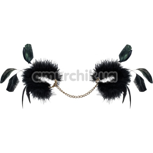 Фиксаторы для рук Obsessive A712, черные - Фото №1