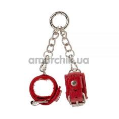 Брелок в виде наручников sLash Handcuffs, красный - Фото №1