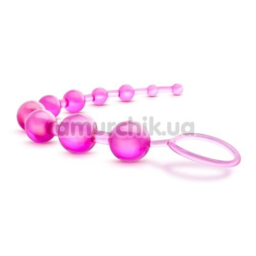 Анальная цепочка B Yours Basic Beads, розовая