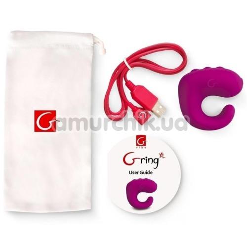 Вибронапалечник Gring XL, малиновый