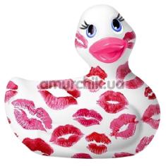 Клиторальный вибратор I Rub My Duckie Romance 2.0 с поцелуями, белый - Фото №1