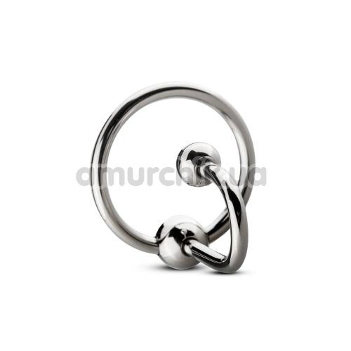 Уретральная вставка Unbendable Sperm Stopper Solid SIN106 3.2, серебряная