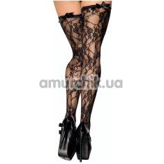 Чулки Me-Seduce Stockings ST04, черные - Фото №1