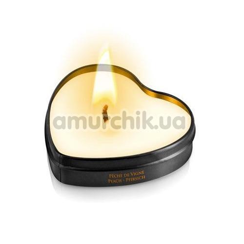 Массажная свеча Plaisir Secret Paris Bougie Massage Peach - персик, 35 мл