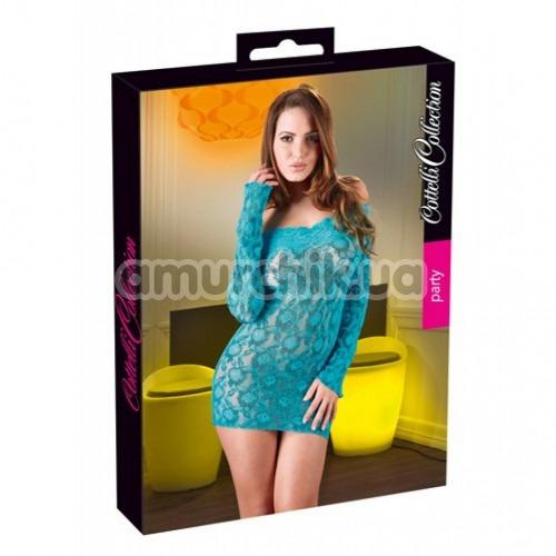 Платье Cottelli Collection Party 2713802, бирюзовое