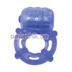 Виброкольцо Climax Juicy Rings, синее