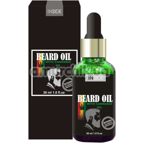 Средство для бороды с конопляным маслом Inside Beard Oil with Cannabis Oil, 30 мл