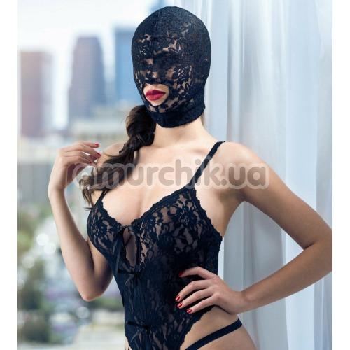 Маска Scandal Lace Hood, черная