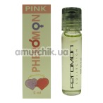 Духи с феромонами Mini Max Pink №4 - реплика Versace Bright Crystal, 5 мл для женщин - Фото №1