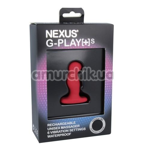Вибростимулятор простаты для мужчин Nexus G-Play Plus Small, красный