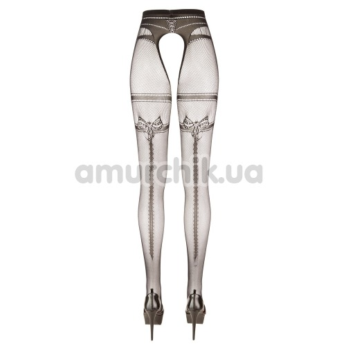 Колготки Cottelli Collection Crotchless Tights 2510251, черные