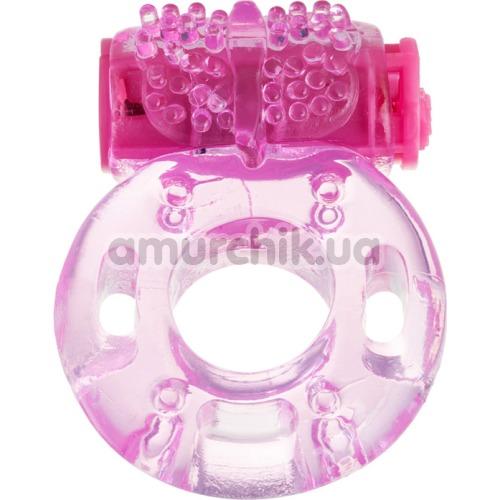 Виброкольцо Erotist, розовое - Фото №1