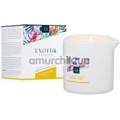 Массажная свеча Exotiq Massage Violet Ylang Ylang - иланг-иланг, 200 мл - Фото №1