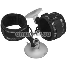 Наручники Steamy Shades Suction Cuffs, чёрные