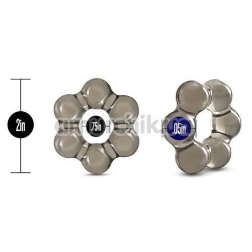 Эрекционное кольцо Stay Hard Thick Bead Cock Ring, черное
