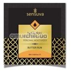 Лубрикант Sensuva Natural Water-Based Butter Rum - сливочный ром, 6 мл - Фото №1