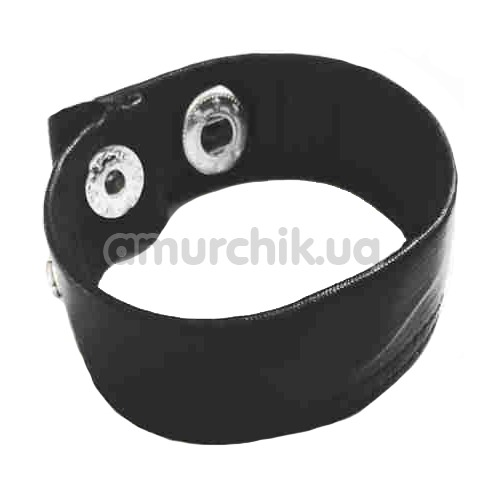 Эрекционное кольцо Fetish Collection Penis Hoden Riemen, черное - Фото №1