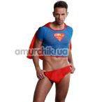 Костюм супермена Dolce Piccante мужской, чёрный - Фото №1