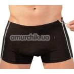 Трусы-шорты мужские Herren Pants (модель 24), черные - Фото №1