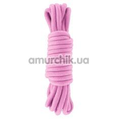 Веревка sLash Bondage Rope Pink 5м, розовая - Фото №1