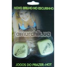 Секс-игра кубики Novo Brilho No Escurinho - Фото №1
