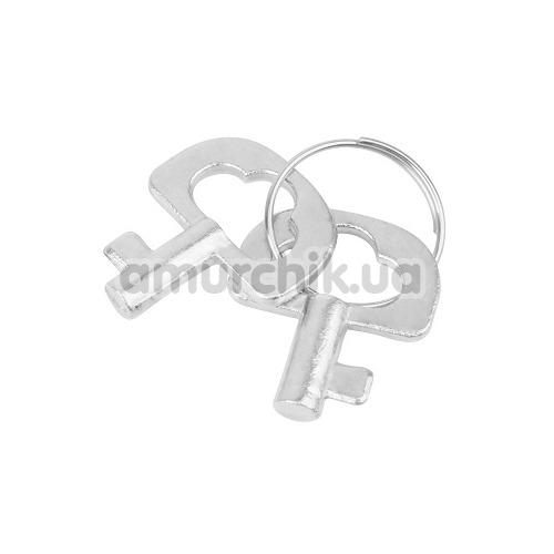 Наручники Hi-Basic Luv Punish Cuffs, серебряные