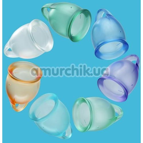 Набор из 2 менструальных чаш Satisfyer Feel Confident, фиолетовый